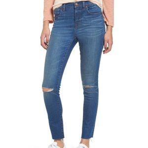 "Madewell 9"" rise skinny jeans Sz 27"